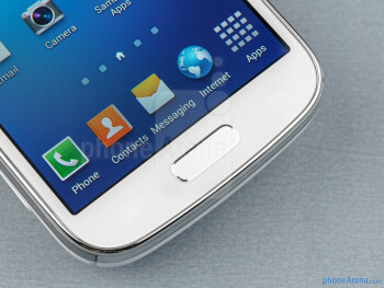 Capacitive navigational keys - Samsung Galaxy S4 Zoom Review