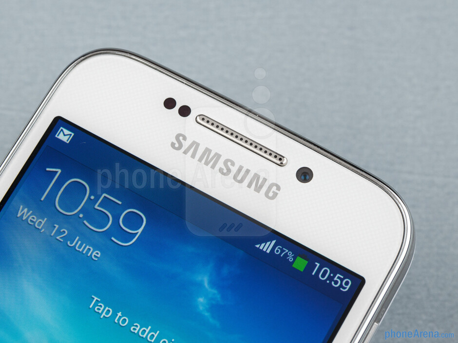 Front camera - Samsung Galaxy S4 Zoom Review