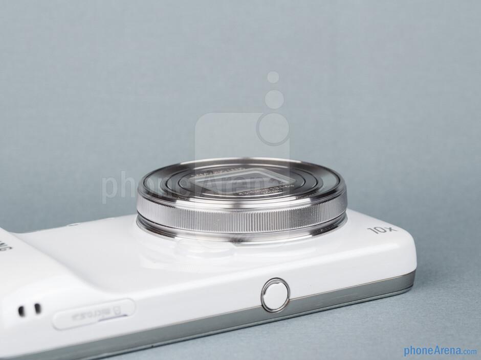 Camera lens - Samsung Galaxy S4 Zoom Review