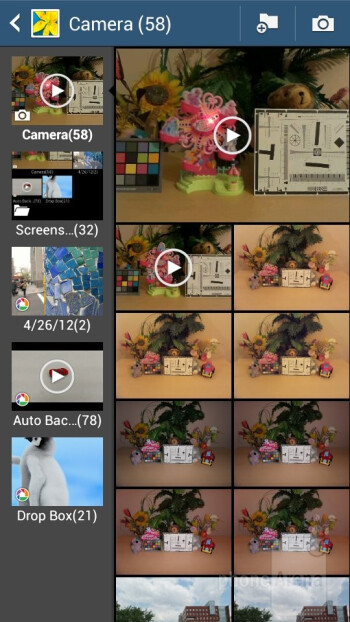 The Gallery app - Samsung Galaxy S4 Zoom Review