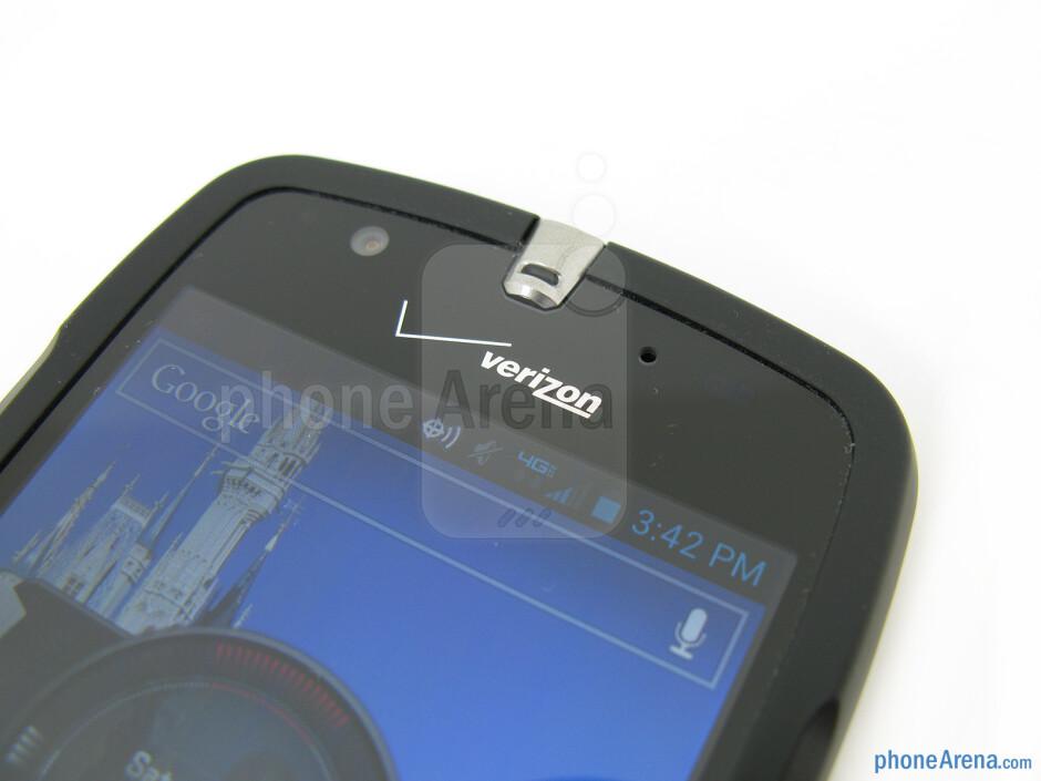 Front camera - Casio G'zOne Commando 4G LTE Review