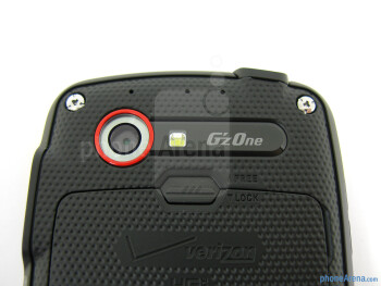 Rear camera - The sides of the Casio G'zOne Commando 4G LTE - Casio G'zOne Commando 4G LTE Review