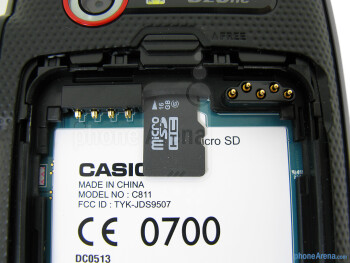 microSD slot - The sides of the Casio G'zOne Commando 4G LTE - Casio G'zOne Commando 4G LTE Review