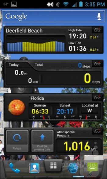 The Casio G'zOne Commando 4G LTE runs Android 4.0.4 Ice Cream Sandwich - Casio G'zOne Commando 4G LTE Review