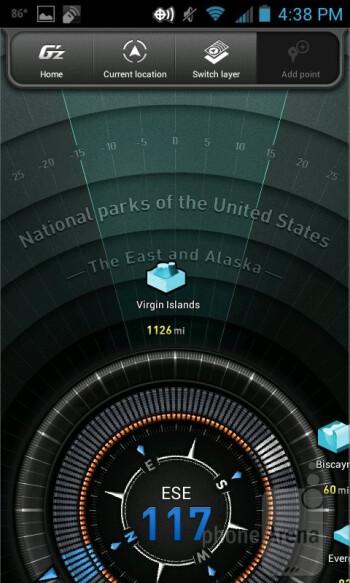 The G'zGear app - Casio G'zOne Commando 4G LTE Review