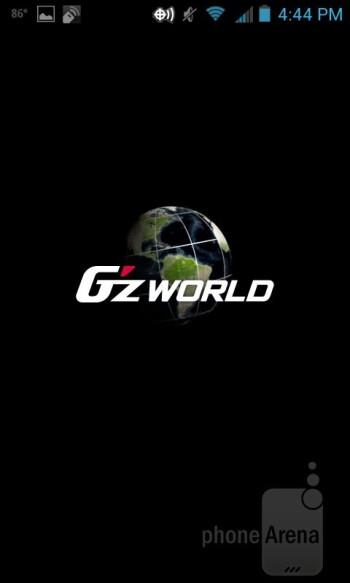 The G'zWorld app - Casio G'zOne Commando 4G LTE Review