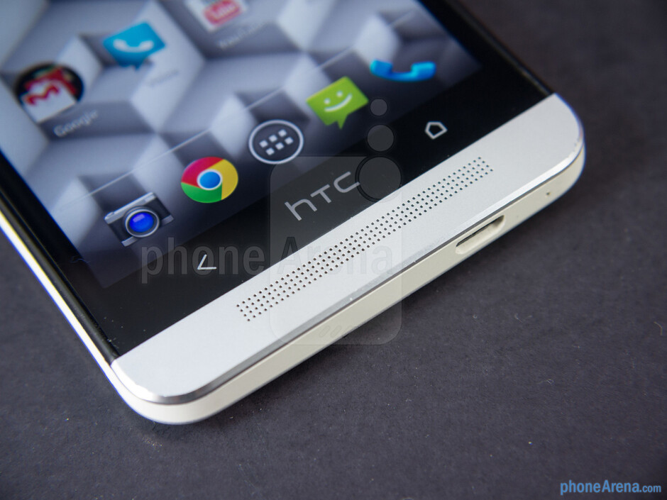 Android buttons and speaker - HTC One Google Play Edition Review