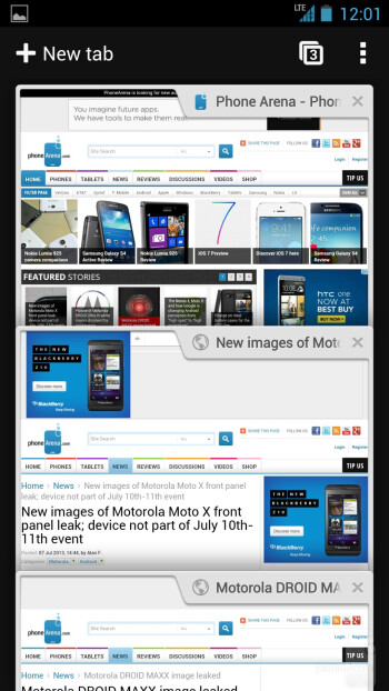 HTC One Google Play Edition - Internet browsing - HTC One Google Play Edition vs HTC One