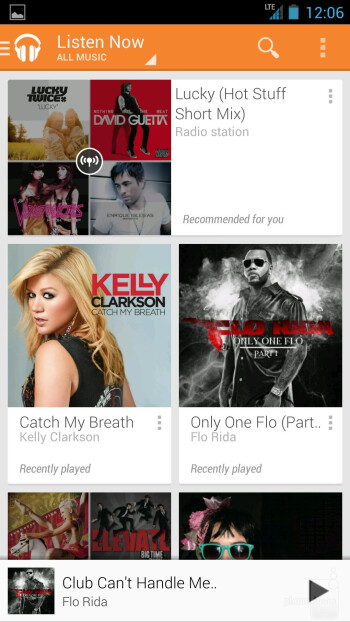 Google Play Music on the HTC One Google Play Edition - HTC One Google Play Edition vs HTC One