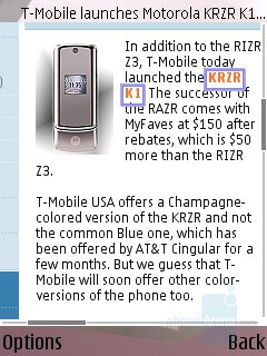 Internet Browser - Nokia N95 Review