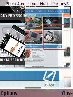 Minimap - Internet Browser - Nokia N95 Review