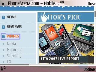 Landscape - Internet Browser - Nokia N95 Review