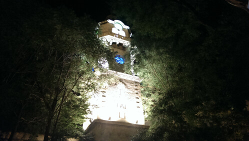 HTC One - night mode on