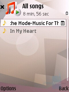 Music Player Interface - Nokia N95 Review