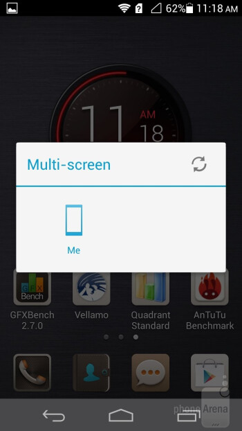 Notification bar - Huawei Ascend P6 Review