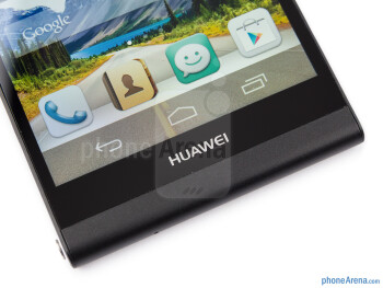 Android on-screen keys - Huawei Ascend P6 Review