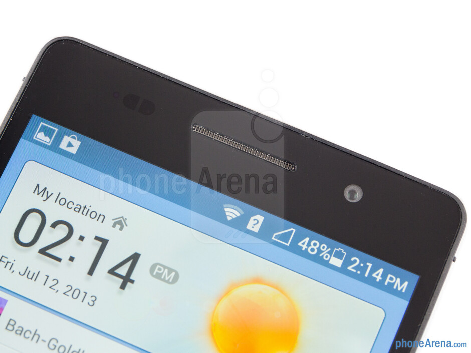 Front camera - Huawei Ascend P6 Review