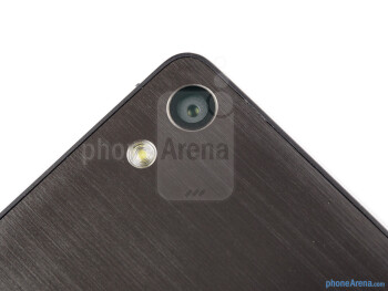 Rear camera - Huawei Ascend P6 Review