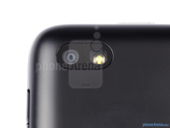 Rear camera - The sides of the BlackBerry Q5 - BlackBerry Q5 Review