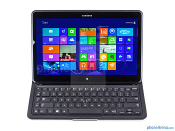 Perhaps the most interesting design part is the hinge mechanism - Samsung ATIV Q Review