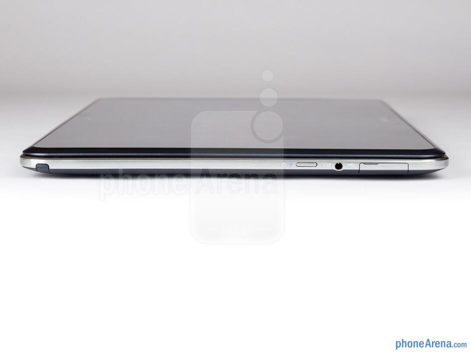The sides of the Samsung Ativ Q - Samsung ATIV Q Review