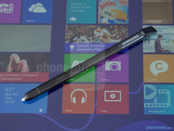 The S Pen stylus - Samsung ATIV Q Review