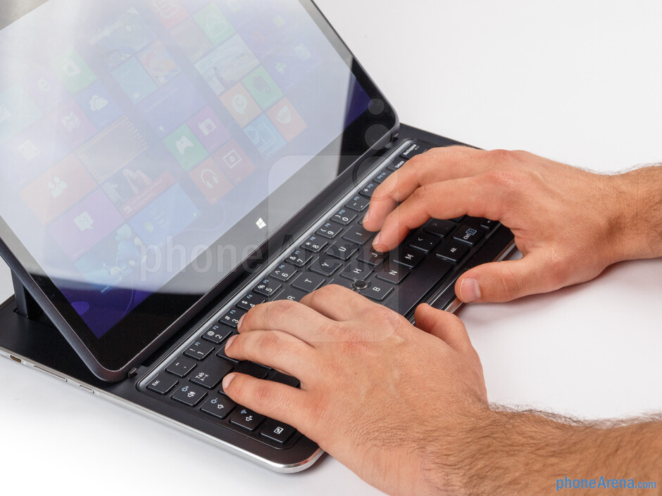 Keyboard - Samsung ATIV Q Review