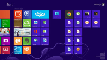 You can switch back to Windows 8 any time - Samsung ATIV Q Review