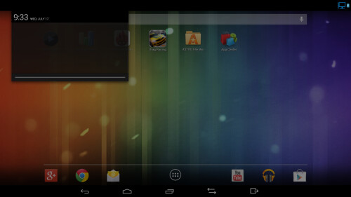 Samsung has introduced the Dual OS feature with ATIV Q, and you can switch to Android 4.2.2