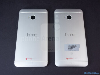 The HTC One Google Play Edition (left) and the HTC One (right) - HTC One Google Play Edition vs HTC One