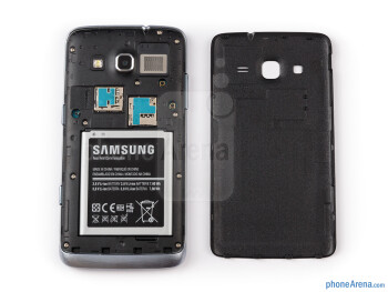 Battery compartment - Samsung ATIV S Neo Preview