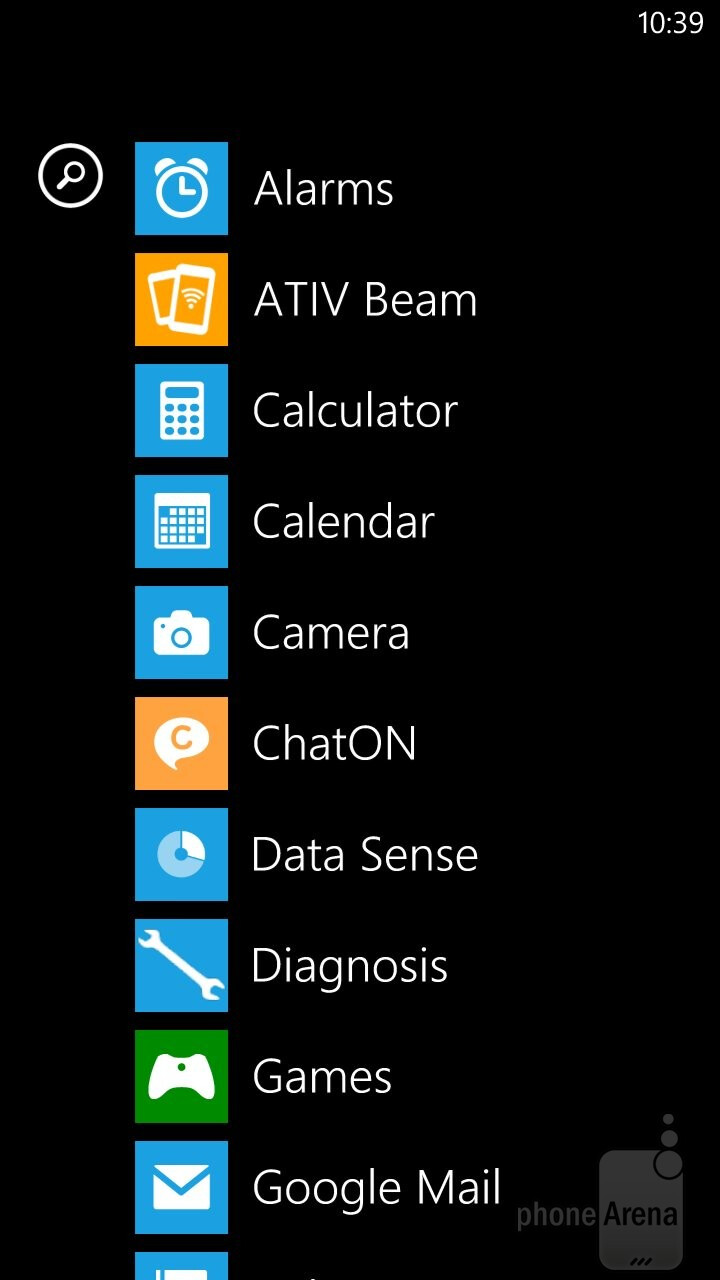 The interface of Samsung ATIV S Neo - Samsung ATIV S Neo Preview