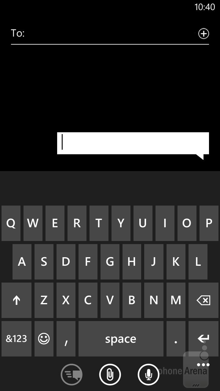 Messaging - Samsung ATIV S Neo Preview