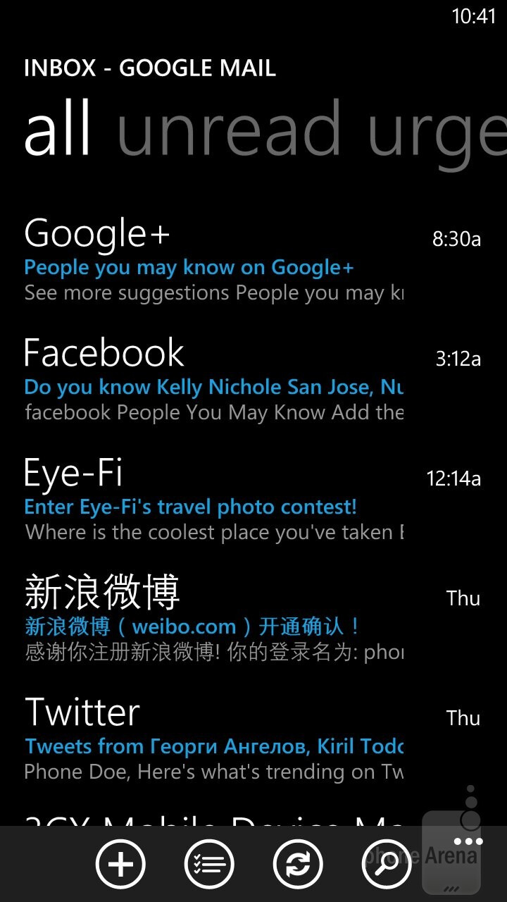 Email - Samsung ATIV S Neo Preview