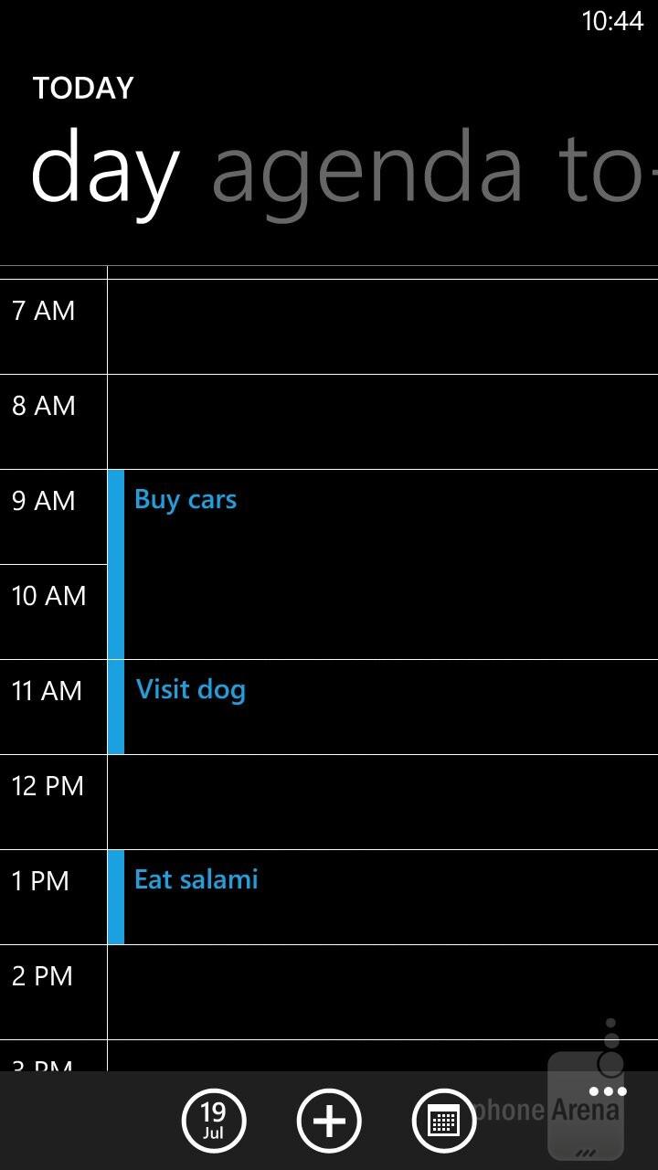Calendar - Samsung ATIV S Neo Preview