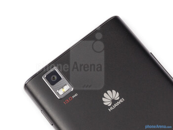 Rear camera - Huawei Ascend P2 Review