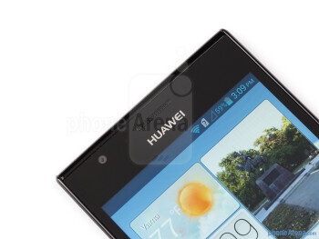 Front camera - Huawei Ascend P2 Review