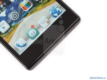 Capacitive Android buttons - Huawei Ascend P2 Review