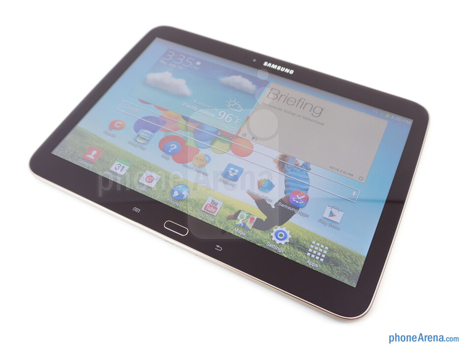 Front - Samsung Galaxy Tab 3 10.1 Review