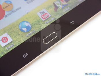 Android buttons - Samsung Galaxy Tab 3 10.1 Review