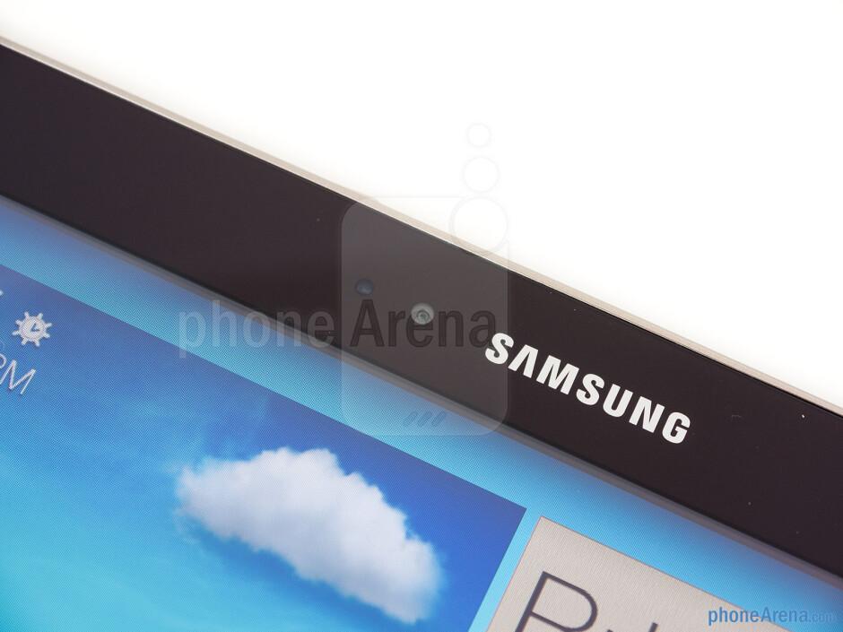 Front camera - Samsung Galaxy Tab 3 10.1 Review