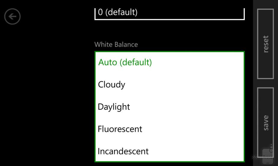 Camera interface of the Nokia Lumia 1020 - Nokia Lumia 1520 vs Nokia Lumia 1020