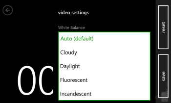 Camera interface of the Nokia Lumia 1020 - Nokia Lumia 1020 vs HTC One