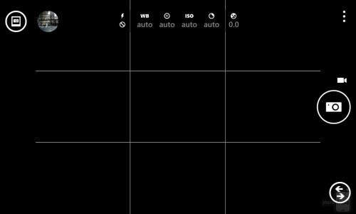 Lumia 1020 Pro Cam UI