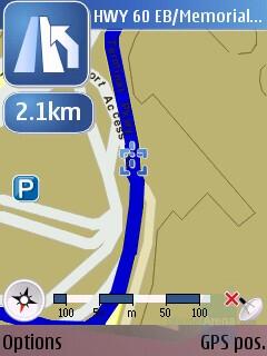 Turn by Turn Navigation - Nokia N95 Review