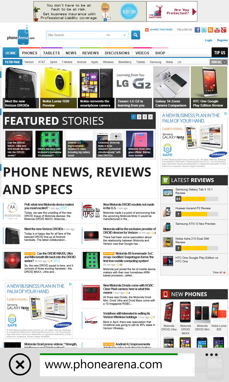 Lg G2 vs Lumia 1020