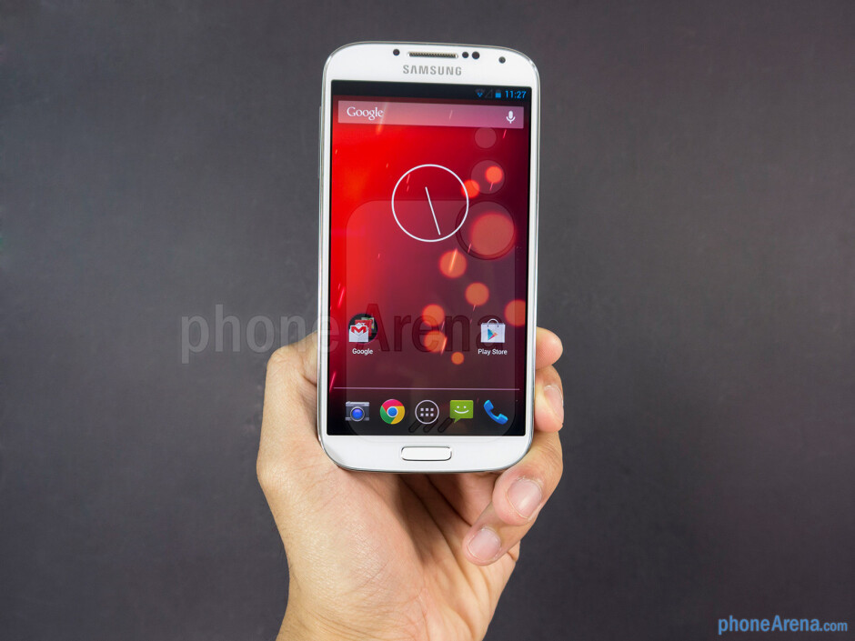 At the end of the day, it looks like and feels like the S4 - Samsung Galaxy S4 Google Play Edition Review