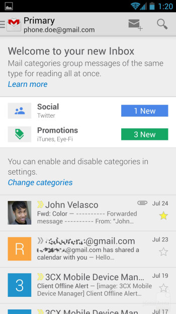 Email - Samsung Galaxy S4 Google Play Edition Review