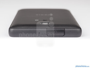 The tight plastic covers of the 3.5mm jack and microUSB ports - Sony Xperia ZR Review