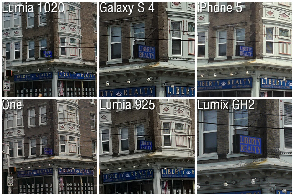 Camera Comparison: Nokia Lumia 1020 vs Galaxy S4, iPhone 5, Lumia 925, One